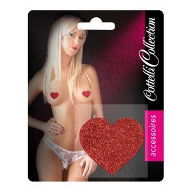 Cottelli Collection Hjerteformet Nipple Covers