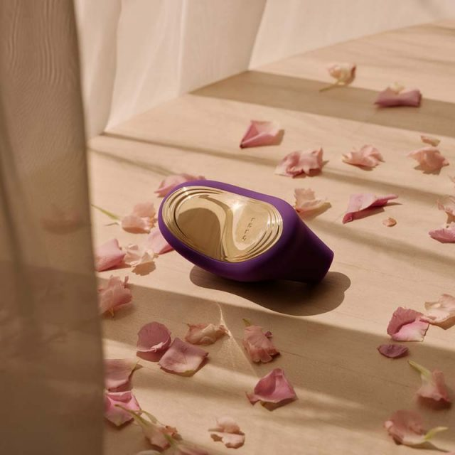 LELO SONA2 klitoris stimulator lilla mood blomster