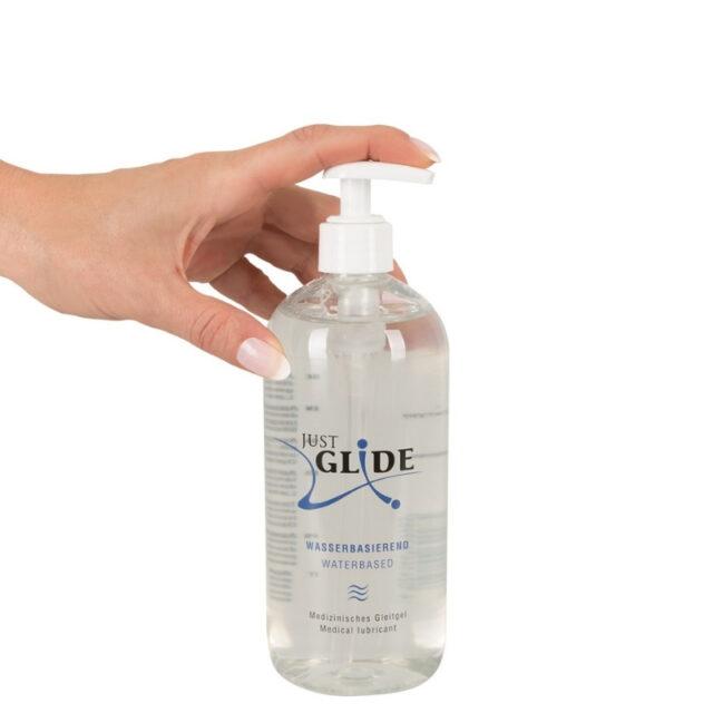 Just glide vandbaseret 500 ml
