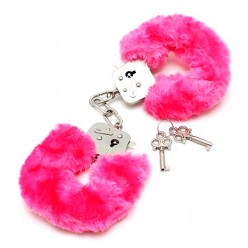 Køb Pink Plys Håndjern