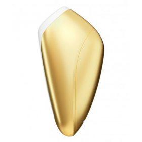 satisfyer love breeze lufttryks vibrator klitoris stimulering guld