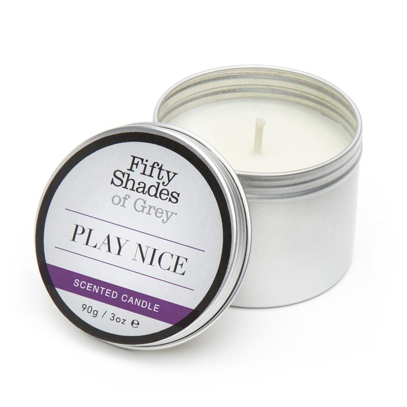 Køb Fifty Shades of Grey Play Nice Vanilje Duftlys